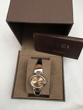GUCCI 100% GENUINE LADIES GUCCISSIMA WATCH MODEL 134.5 BOXED RRP £495