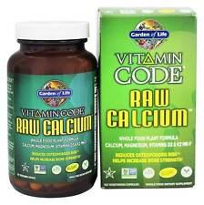 Garden of Life Vitamin Code Raw Calcium 120 Vegetarian Capsules for Bone Health