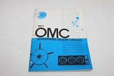 1971 Omc Accessories Dealer Catalog A-7100