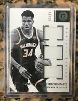 2017 -18 Encased Giannis Antetokounmpo Triple Jersey /99 Pop 1 On Ebay Psa🔥👀👀