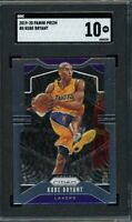 Kobe Bryant Los Angeles Lakers 2019 Panini Prizm Basketball Card #8 SGC 10
