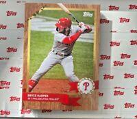 2020 TOPPS NOW MLB ADVENT CARD PHILADELPHIA PHILLIES BRYCE HARPER #17 PR-414