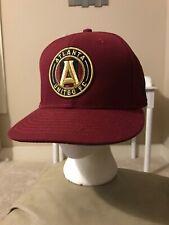 Atlanta United FC MLS New Era 9FIFTY Snapback Adjustable Cap Hat (MEN ONE-SIZE)