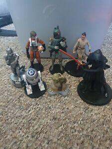 Star wars figures bundle with yoda