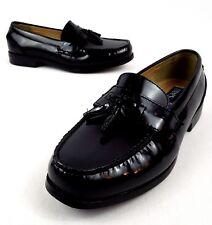 Chaps Men s US 11.5 M Black Kiltie Tassel Moc Toe Slip On Loafers Dress  Shoes 1878d1a6f144