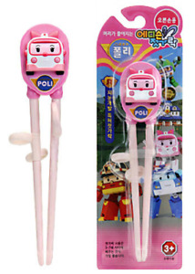 KOREA Cartoon Character ' Amber ' Edison Kids Chopsticks -Right-handed