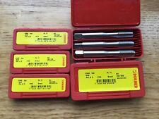 DORMER E500 HSS Metric Coarse TAP SETS   M4 M5 M6 M8 M10 Set of 3 Taps NEW