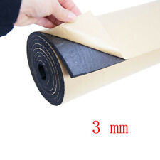 1Roll 3mm Car Sound Proofing Deadening Vehicle Insulation Closed Cell Foam