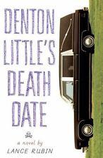 Denton Little's Death Date, Rubin, Lance, hard cover