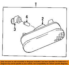 MAZDA OEM 95-96 Protege Side Marker Light Lamp-Marker Lamp Right BC1M515E0A
