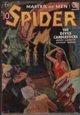 Spider, The. 1938 August.    Pulp