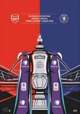 F A CUP FINAL 2020 ARSENAL v CHELSEA MINT PROGRAMME