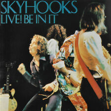 SKYHOOKS - LIVE BE IN IT CD ~ SHIRLEY STRACHAN~BOB SPENCER ~ 70's POP FUNK *NEW*