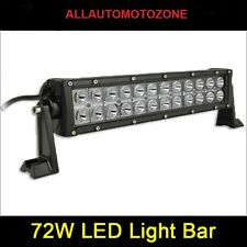 LED Fog Lamp OR Off Roading Lights For all SUV's (72W, 24 CREE LED's, 3W Each)..