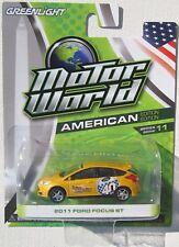 GREENLIGHT MOTOR WORLD SERIES 11 2011 FORD FOCUS ST HELUVA GOOD SOUR CREAM DIPS
