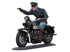 BLACK HAWK BH1204 Toy Soldiers Gangland Series Motorcycle Cop Shooting FREE SHIP