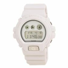 Casio DW6900WW-7 Gent's Digital Grey Dial White Strap Alarm Watch
