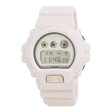 Casio DW6900WW-7 Gent's Digital Grey Dial White Strap Alarm Watch