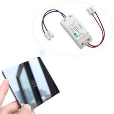 Wireless Light Switch - Remote Control - Touch Glass Transmitter,110V - 220V