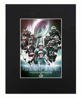 Philadelphia Eagles NFL 2018 Super Bowl Champions Nick Foles Print Poster 8x10