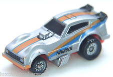 Micro Machines  PLYMOUTH Arrow Funny Car - SILVER/BLUE/ORANGE - Galoob