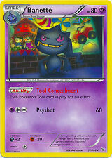 Banette Rare Pokemon Card XY Roaring Skies 31/108