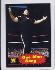 ONE MAN GANG WWE 2012 Topps Heritage BLACK Parallel #95 Rare SP Only 100 MADE