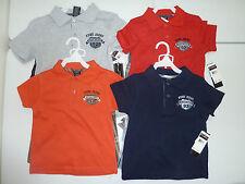NWT Boys FUBU 2pc Set Polo Shirt Gray, Red, Orange, Navy 3T, 4T, 5T, 6T