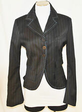 RARE In Love by Carling Victorian Steampunk Goth Renaissance Pirate Jacket M