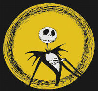 Jack Skellington Nightmare Before Christmas DIGITAL Counted Cross-Stitch Pattern