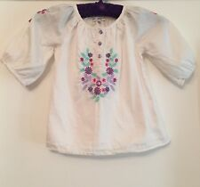 Autograph Girls Cittin Blouse With Embroidery. 18-24 Months. Immaculate.