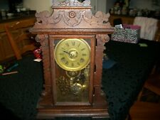 New ListingSeth Thomas Eight Day Mantel Clock 298A Antique Ornate/Vintage Clock