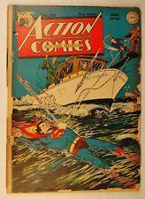 "Action Comics #123 (Aug 1948, DC) ""50 Ways to Kill Superman!"" - Poor Spine"