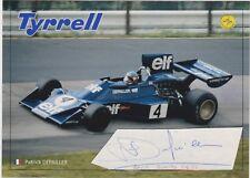 Patrick Depailler+Formula1+Autograph+GP-Winner