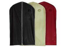 Housse vinyle pour vêtements format long coloris noir