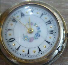 Silver Fob / Pocket Watch Rare Turkish Ottoman Empire Antique