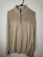 Field And Stream 1/4 Zip Sweater Size XL