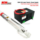MCWlaser 60W CO2 Laser Tube 100cm  Power Supply Air Express  Insurance