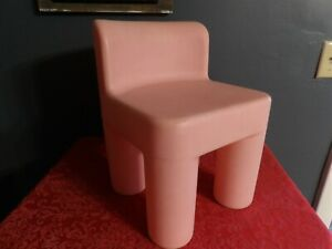 HTF Little Tikes PINK Child Size Chunky CHAIR