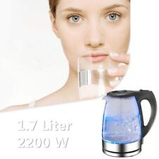 Electric Kitchen Glass Kettle Pot Hot Water Tea Quick Boil High Capacity 1.7L US