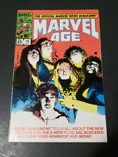 Marvel Age #16 VF 1984 New Mutants Marvel Comics