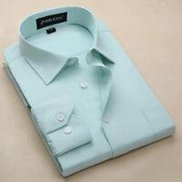 New Men's Luxury Shirt Formal Casual Business Slim Stylish Dress Shirts ATT6304