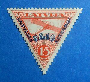 1931 LATVIA 15S/1L SCOTT# CB4 MICHEL # 191A UNUSED                       CS40082