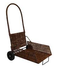bois de chauffage chariot large PLIABLE PANIER RACK cheminée