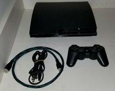 Sony PlayStation 3 - Slim 160GB Black Home Console