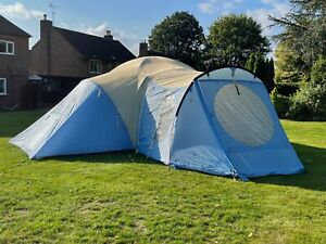 Wild Country, Halo 73, seven berth family camping tent.