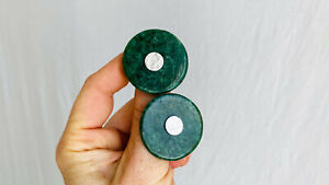 Imperial Jade Earrings. Guatemalan Jade & Sterling Silver