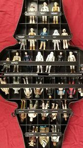 Vintage Star Wars Action Figures and Darth Vader Collectors Carry Case w/Insert