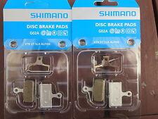2 sets of Shimano Disc Brake Pads Resin G02A XTR XT SLX Alfine **New**