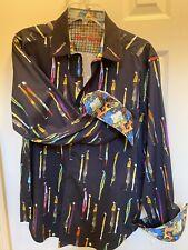 Robert Graham Mens Long sleeve Shirt - Large